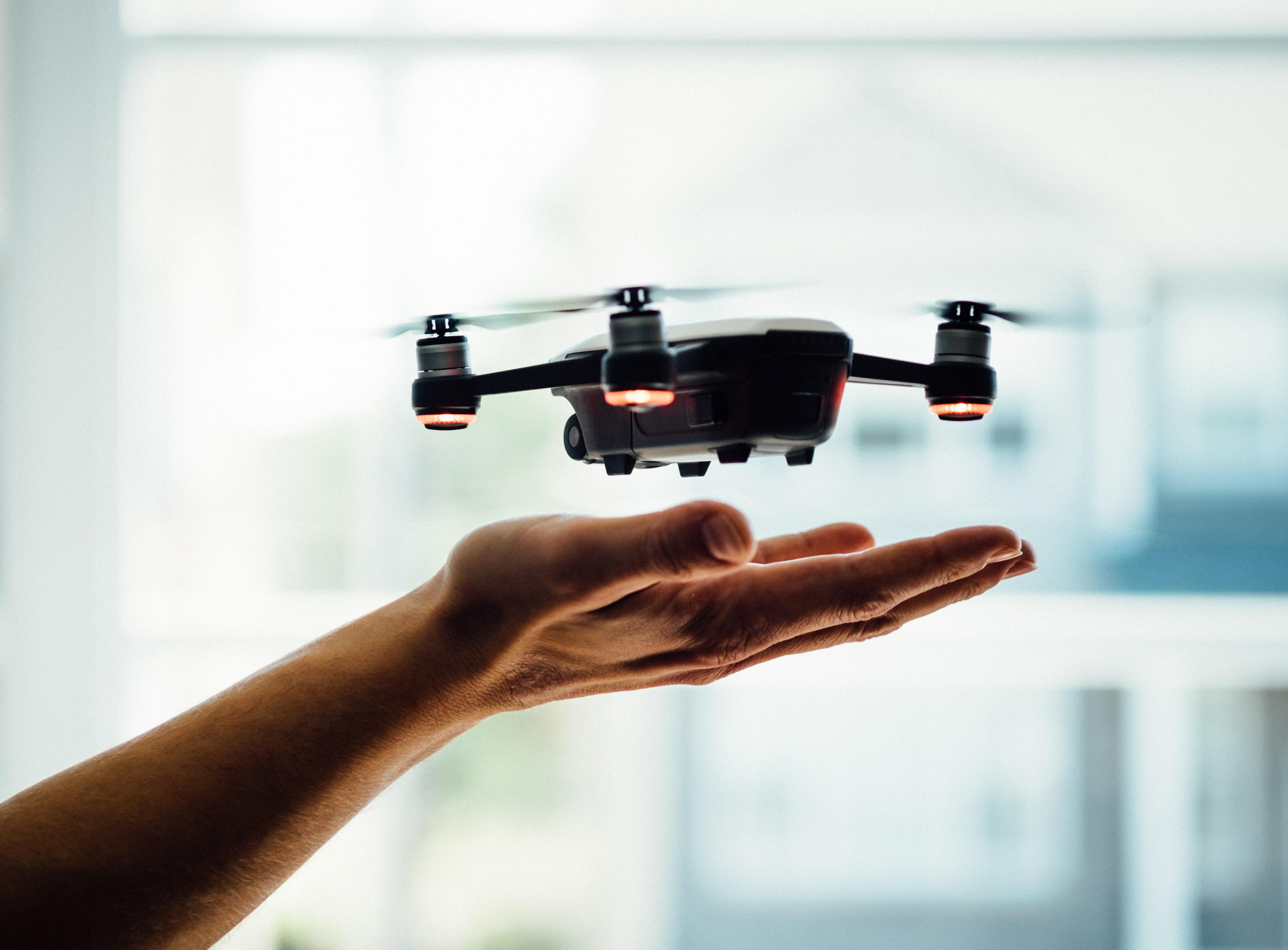 drone d'interieur